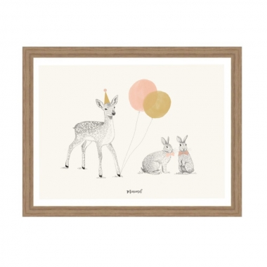 A4 Poster 'Bambi Party'