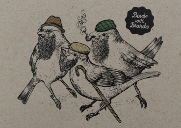 Birds with Beards
