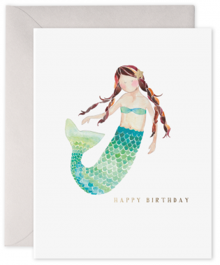 Happy Birthday Mermaid