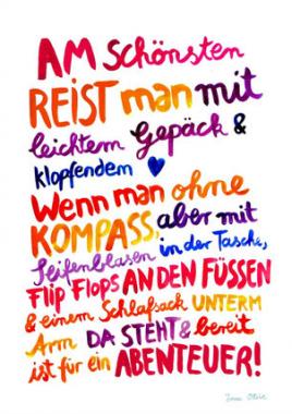 papermint.ch - Poster \'Wolke rosa\' von Mimirella Seite 2