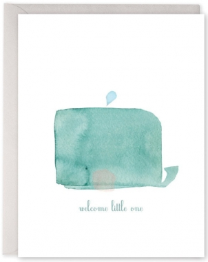 Welcome litte one Whale